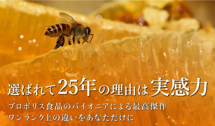 ミツバチからの贈り物 プロポリス